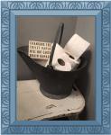 Toalett inredning