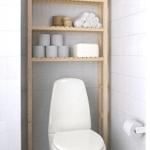 Mer förvaring på toaletten