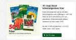 50% rabatt på fröer till den 5 feb på Blomsterlandet