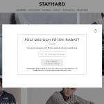 Få 15% rabatt på Stayhard
