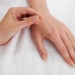 Akupunktur och zonterapipunkter
