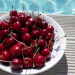 Glöm inte att äta goda körsbär