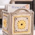 Klä låda med mormorsrutor