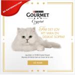 Gratis smakprov till katten från Purina Gourmet!