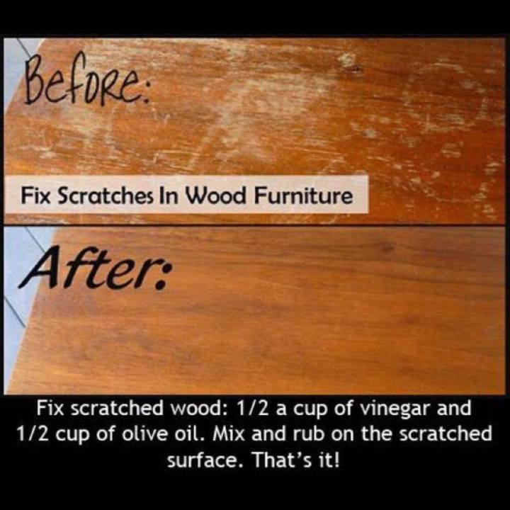behandla trä bord