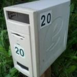 Göra en brevlåda av gammal stationär dator