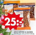 Tips på nötter & mandlar för endast 25 kr