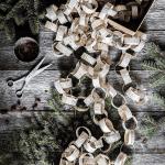 Göra pappersgirlanger till julgranen