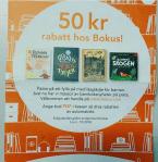 Rabattkod för barnbok, 50 kr på Bokus!