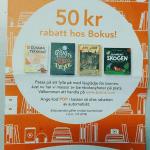 50 kr rabatt på barnbok på Bokus.com med rabattkod