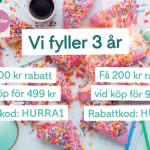 100 – 200 kr rabatt hos Kökets favoriter