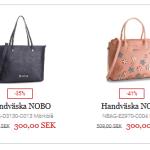 Stor rea på väskor, ryggsäckar, plånböcker och skor hos Eskor