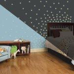 Fixa ett mysigt barnrum snabbt utan att måla eller tapetsera om!