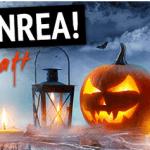 Halloweenrea på tidningar