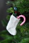 Göra julstrumpor till granen