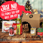 Gratis hemleverans fram till julafton från MatSmart!