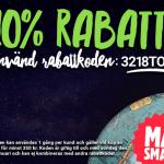 Ny rabattkod på Matsmart