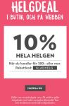 10-20 % rabatt i helgen hos Kronans Apotek