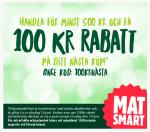 Rabattkod 100 kr MatSmart