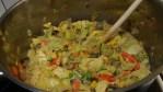 Mustig grönsaksgryta med mycket savojkål