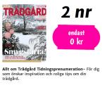 2 st tidningar Allt om trädgård gratis