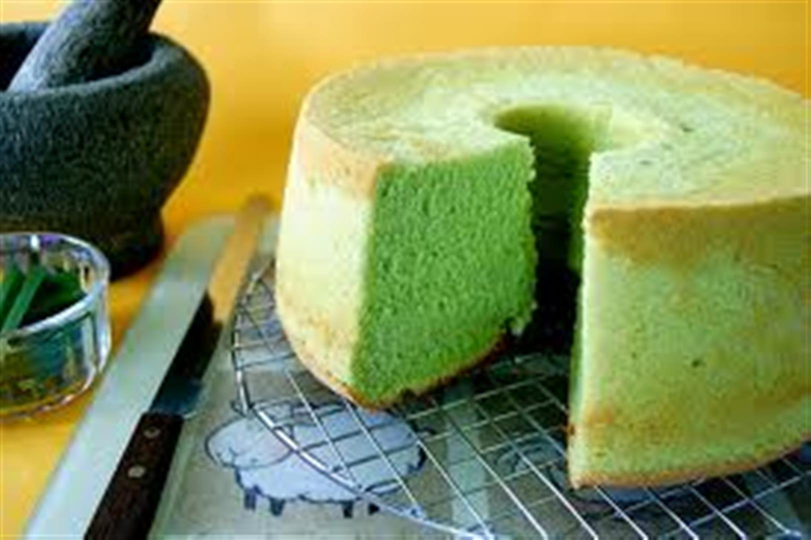 Pandan Chiffon Cake Recipe Panlasang Pinoy