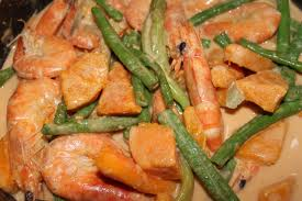 Ginataang Gulay at Hipon Recipe