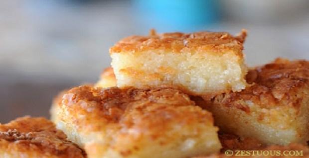 Bibingka – Filipino Coconut Cake
