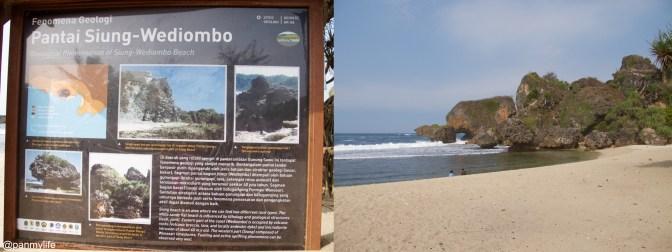 Siung - Wediombo beach, Gunung Kidul, Indonesia