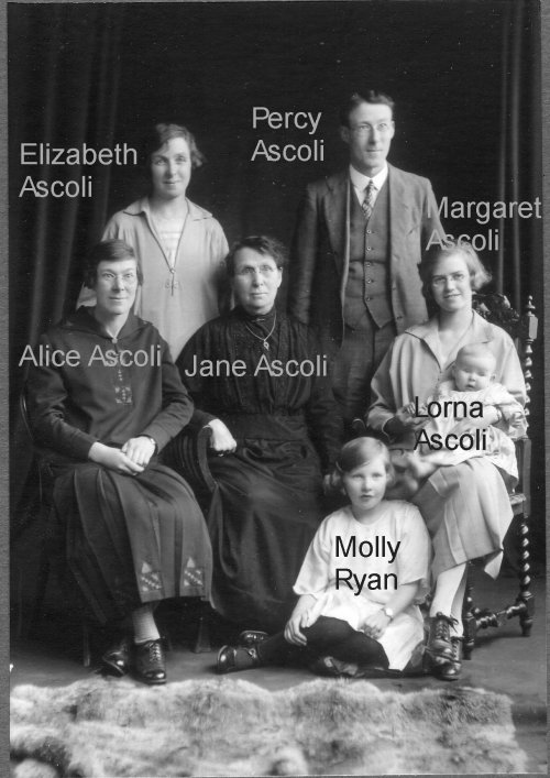The Ascoli family 1926?
