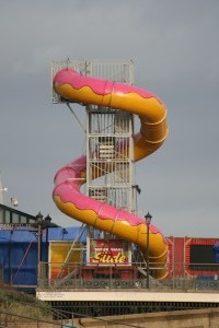 Slide at Skegness