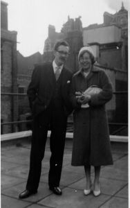 Lorna and Peter Fermer married 31 January 1959