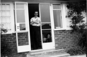 Peter at Carlton Avenue June 1959