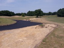 25. Chart Hills 5th - The Anaconda bunker under repair