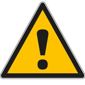 panneaux signalisation santé sécurité travail Danger général