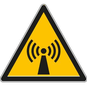 panneaux signalisation santé sécurité travail Radiations non ionisantes