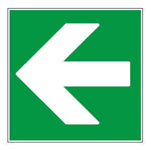 panneaux signalisation santé sécurité travail Directions à suivre : gauche