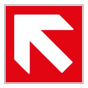 panneaux signalisation santé sécurité travail Directions à suivre : haut gauche