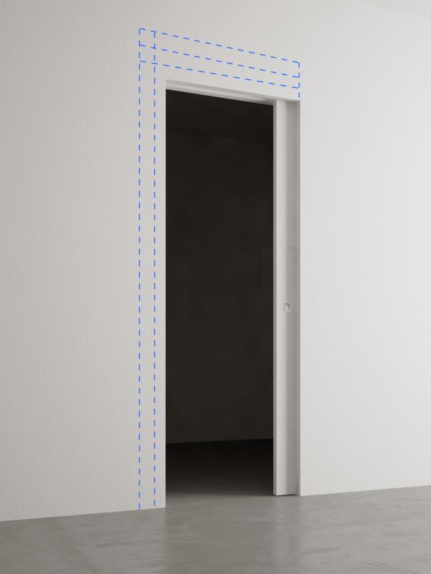 La porta invisibile ora anche scorrevole - Montare porta scorrevole ...