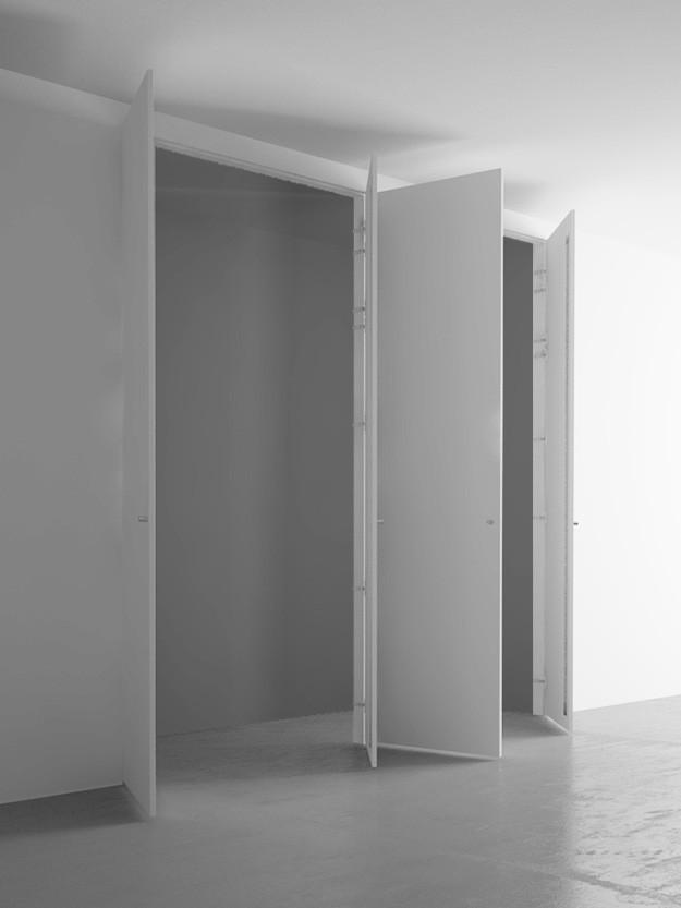 Armadio a muro 4 ante cm 220x260