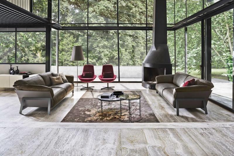 living room design Ditre Italia