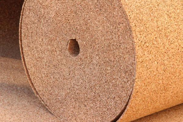 Rotolo isolante in sughero biondo a spessore ridotto