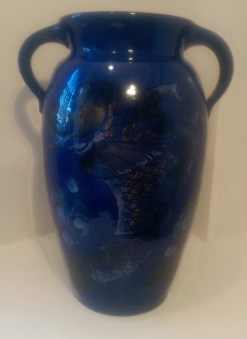 013 Baron of Barnstaple - vase decorated with stylised fish 2