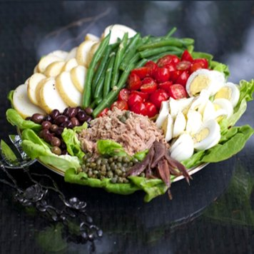 Best Mother's Day Brunch Recipes: Nicoise Salad of tuna, eggs, potatoes and green beans