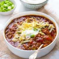 Eddie's Award Winning Chili