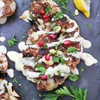 Cauliflower Shawarma with Lemon Tahini Sauce