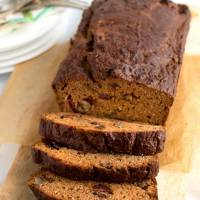 Healthy Pumpkin Bread with Almond Flour
