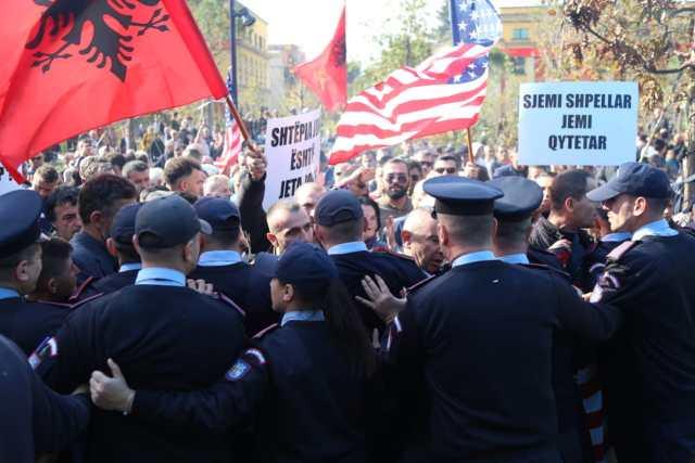 Protesta-Unaza e Re-Bashkia