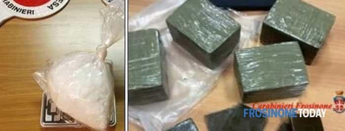 Operazione Bazar pezzi droga