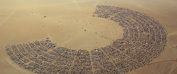 Burning Man 2014 en directo